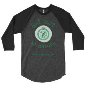 Shop North Pole Star Unisex 3/4 Sleeve Raglan Shirt Baseball T-Shirt Men Women Girls BoysTee Cotton Made in USA