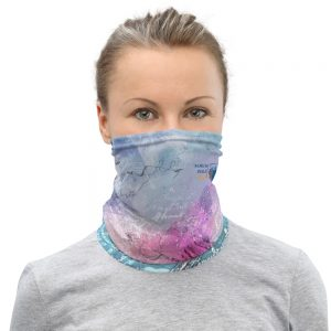 North Pole Star Neck Gaiter PS92262 Face Scarf Fashion Mask Cooling Breathable Bandana WindproofBalaclava UV Protection Half Face Cover Reusable Headband for Men Women