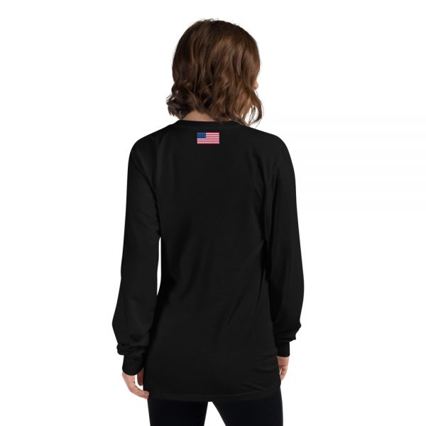 North Pole Star Alaska Shirt - North Pole Star Unisex Long Sleeve Alaska Shirt Cotton T-Shirt for Men & Women Made in USA