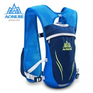 AONIJIE Lightweight Hydration Backpack , 5.5L Capacity, Insulated Water Backpack withReflective Stripe for Men Women, Perfect Marathon Hydration Pack, Running, Hiking, Cycling, Camping