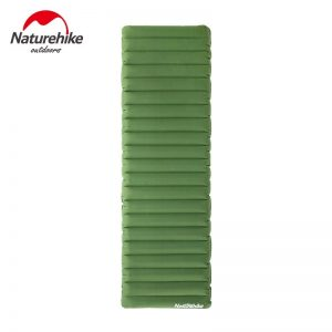 """Naturehike 4.7"""" Thicken Camping Air Mattress Inflatable Ultralight Outdoor Mat For Tent Moisture-proof Pad With Repair Kit"""
