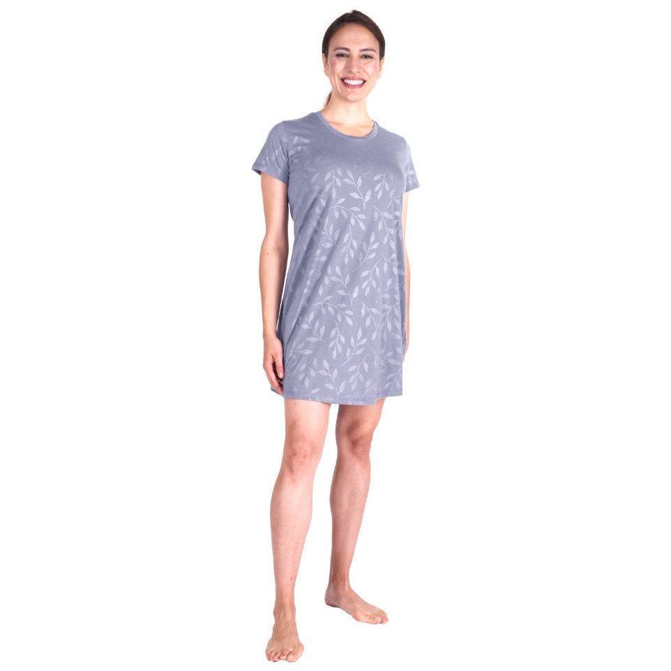 Women's Moisture Wicking Scoop Neck Nightshirt/Cover-up