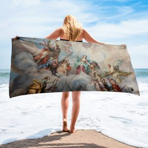 North Pole Star Beach Towel MI33139 Lightweight, Ultra Absorbent, Full Color, Fast Drying, 30 x 60 in.Pool, Beach Towel