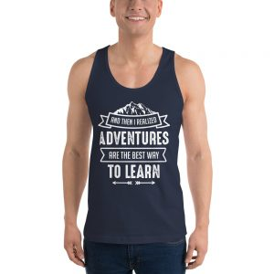 North Pole Star Classic Tank Top CO211 (Unisex) Sleeveless design Scoop Neck Exercise T-Shirt Made in USA