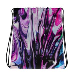 North Pole Star Large Drawstring Bag AK99927 backpackSports Outdoor Fashion Sackpack Yoga Gym Sackfor Women Men Children