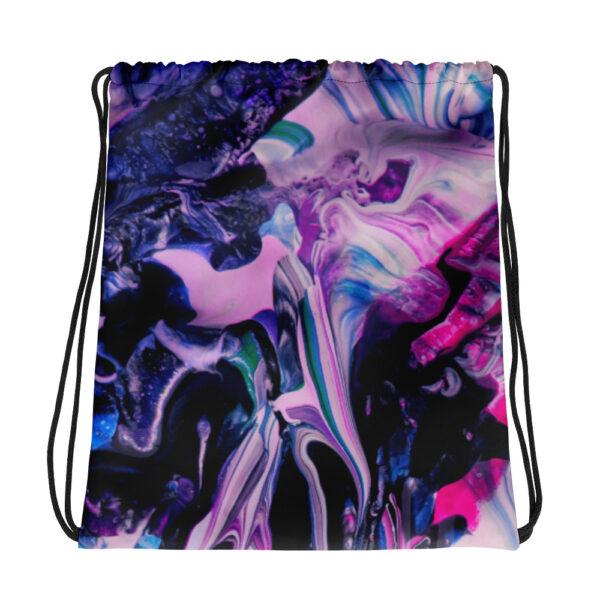 North Pole Star Large Drawstring Bag AK99927 backpack Sports Outdoor Fashion Sackpack Yoga Gym Sack for Women Men Children