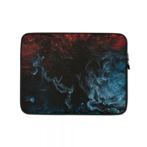 """North Pole Star 13"""" - 15"""" Laptop Sleeve HO96801 Water-Resistant Neoprene Protective CaseNotebook Computer Pocket Tablet Briefcase Carrying Bag/Pouch Skin Cover"""