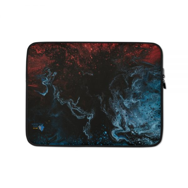 """North Pole Star 13"""" - 15"""" Laptop Sleeve HO96801 Water-Resistant Neoprene Protective Case Notebook Computer Pocket Tablet Briefcase Carrying Bag/Pouch Skin Cover"""