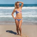 American Flag Bikini NY10011-03