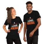 I Love Hiking Short-Sleeve Unisex T-Shirt1