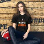 I Love Hiking Short-Sleeve Unisex T-Shirt2